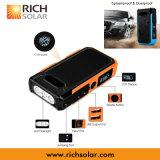 Cargador de múltiples funciones del almacenaje del iPhone de la energía portable de la energía solar con la abrazadera de la batería