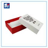 Caja de regalo de papel de lujo con la impresión de logotipo personalizado