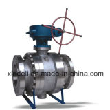 API van de Fabriek van China 6D de Flens Gesmede Kogelklep van de Tap van het Staal