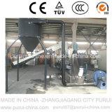 Macchina di granulazione di riciclaggio di plastica residua con lo schermo di tocco del PLC