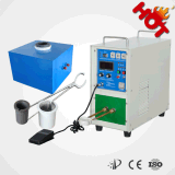 máquina de derretimento do ouro 1-5kg de alta freqüência
