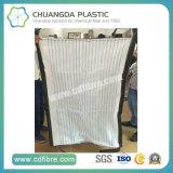 Malha respirável FIBC Jumbo Bulk Contay Bag com fundo plano