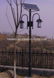 Indicatore luminoso solare del giardino delle lampade esterne di paesaggio della fabbrica