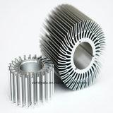 ラジエーターのための陽極酸化された銀製カラー円形脱熱器