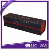 Contenitore di regalo magnetico di carta del vino della chiusura di Cardbaord di marchio su ordinazione di lusso