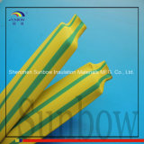 2: 1 poliolefina 3:1 a strisce della tubazione verde/gialla della terra