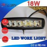 18W LED作業ライトランプのスポットライト4WD ATV
