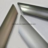 Balustrade en aluminium d'escalier avec la couleur anodisée