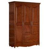 Подгонянный шкаф высеканный рукой деревянный (GSP17-006)