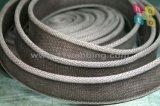 40mm Oeko-Texは編まれた石によって洗浄された綿のウェビングベルトを証明した