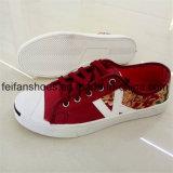 古典的な人の注入のズック靴の余暇の靴(FFZL1101-01)