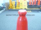 Plastikverkehrs-Kegel mit GummiHeavior niedrige LED regelte 750mm