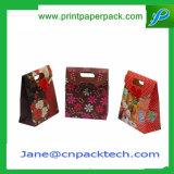 Sacchetto della confetteria del regalo stampato abitudine del sacchetto di acquisto dell'elemento portante del sacco di carta di modo delle borse