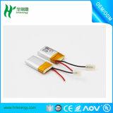bateria recarregável do Li-íon de Lipo do polímero de Li do lítio de 3.7V 55mAh 401120 para o auscultadores dos auriculares de Bluetooth