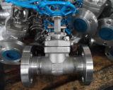 A extremidade da flange do ANSI forjou a válvula de porta de aço