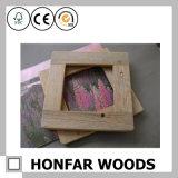 Деревенская естественная деревянная рамка фотоего изображения