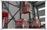 Gaoliの良質の二重ケージの構築の起重機のエレベーターSc320/320