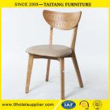 Cadeira do jantar do restaurante da madeira contínua da alta qualidade