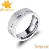 Exaset01-1 316L CNC Stones Stainless Steel Ring Preço
