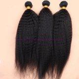 최상 페루 Virgin 사람의 모발은 Virgin 머리 길쌈 제품 Virgin 비꼬인 직모 연장을 묶는다