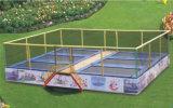 صنع وفقا لطلب الزّبون قابل للنفخ [ترمبولين] سرير لأنّ عمليّة بيع