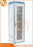 Gabinete de rede de alta resistência 19in Rack para uso na porta