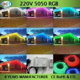 SMD LED 지구 60LEDs를 바꾸는 120V/230V 5050 유연한 RGB 색깔