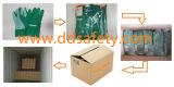 Baumwolldruck-im Garten arbeitenhandschuhe mit Band-Stulpe Dgb311