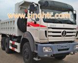 6X4 25 tonnellate di POTERE della STELLA di autocarro con cassone ribaltabile