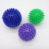 Mini esfera de mão de borracha plástica da massagem