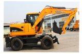 최신 판매 Xn120-L 바퀴 굴착기
