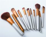 bilden kosmetische Gesichtsbehandlung 11PCS Pinsel-Installationssatz mit Segeltuch