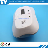 Alarma precio de fábrica Intermitentes sonido de la batería de 9V Operar sin hilos del humo y detector de calor