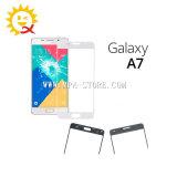 Samsung A7 2016 검정을%s A710 외부 정면 유리제 렌즈