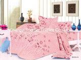 Conjunto barato colorido del lecho de la materia textil de China Suppiler de la reina de la talla del poliester de la impresión de la cubierta casera del Duvet