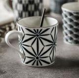 Tazas y tazas de café de cerámica esmaltadas de alta calidad de la impresión