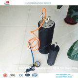 Sacos hinchables de goma del mantenimiento de la tubería con venta caliente