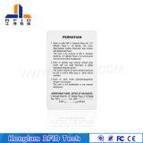 Подгонянная карточка OEM MIFARE франтовская RFID RoHS