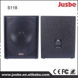 직업적인 단계 사운드 시스템 18 인치 Subwoofer 스피커