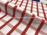 Verificación teñida Fabric-Lz6961 del satén del hilo de algodón