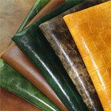 Cuir matériel de Microfiber de qualité de couverture à extrémité élevé de capitonnage pour des meubles de sofa