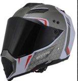 Cascos de la cara llena de los cascos de Motorcrosss de la motocicleta del casco de la cruz del camino
