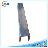Profiel van het Staal van U van het roestvrij staal het U-vormige