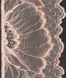 Aparamento Flowery estreito do laço do bordado para o vestido de casamento de Roupa interior Sutiã da senhora a preço barato com entrega rápida baixo MOQ