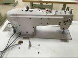 Máquina de pespunte Industrial Direct Drive de alta velocidad de costura con cortahilos automático