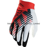 Roter neuer Entwurfs-QuerfeldeinsportMotocross, der Handschuh (MAG65, läuft)