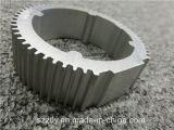 Kundenspezifischer Matt anodisierter silberner Aluminiumstrangpresßling durch die 6000 Serien-Legierung