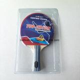 Летучая мышь настольного тенниса пакета волдыря с логосом