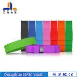 Wristband astuto del silicone dell'interfaccia RFID del USB per gli avvenimenti sportivi