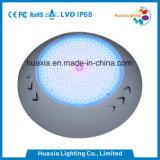 luzes fixadas na parede de superfície da piscina do diodo emissor de luz 18W com 2 anos de garantia